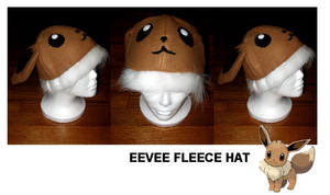 Eevee Fleece Hat by nikkiswimmer