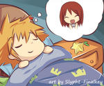Sleep Well, Sora! by Slypht