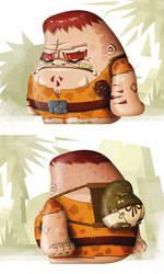 Stone Age Dude by Kubaboom