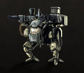 Mech Concept by Kubaboom