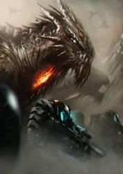 Sci Fi Dragon by Kubaboom