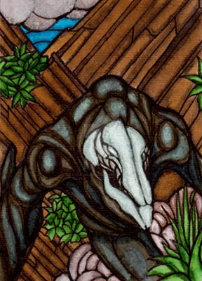 Skull Crawler by DrGravedancer