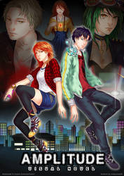 Amplitude Visual Novel Poster [CE] by MikeyMao