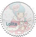 Round Lolita Stamp by Loli-Club