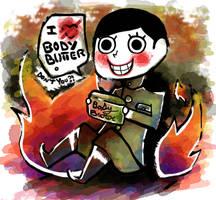 Goku-Sotsu-Kun: Body Butter by zeroxcake