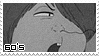 60's OldSchool Kitaro Stamp by zeroxcake