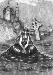 Dark rain by ombradellaluna