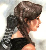 Katniss by ombradellaluna