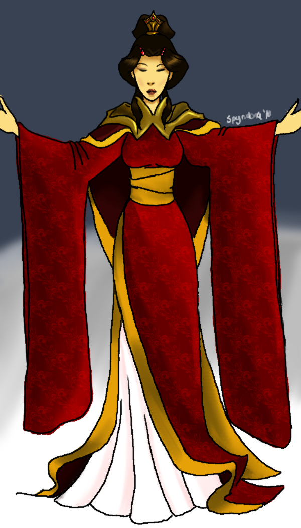 Phoenix Queen Robes by spyridona