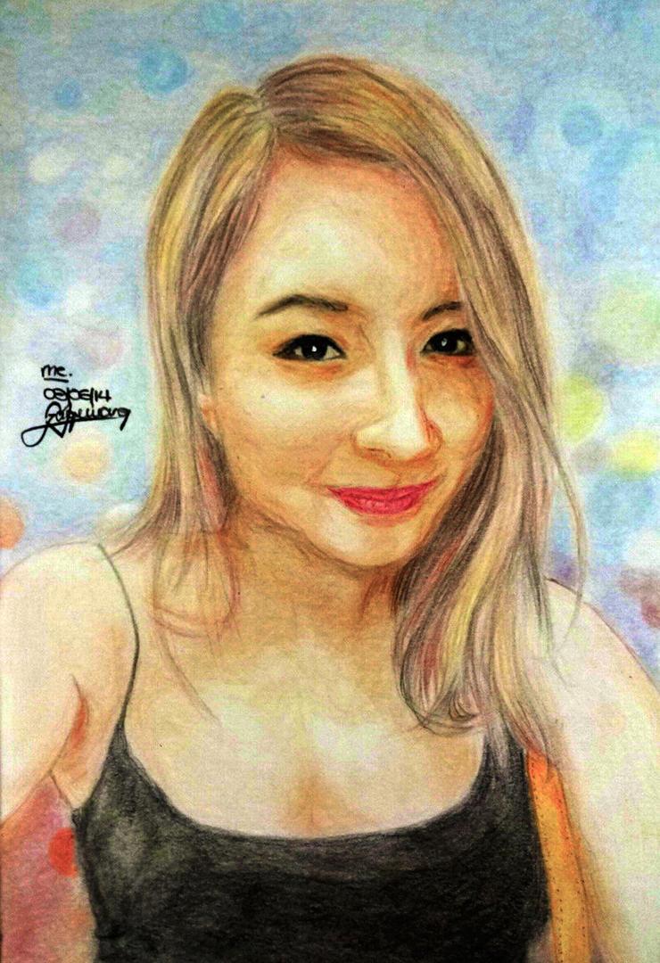 self-sketch #7 by jaquieang