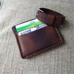 cardholder wallet and nato strap