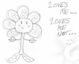 Loves Me Loves Me not Meme by BakaTheIdiot