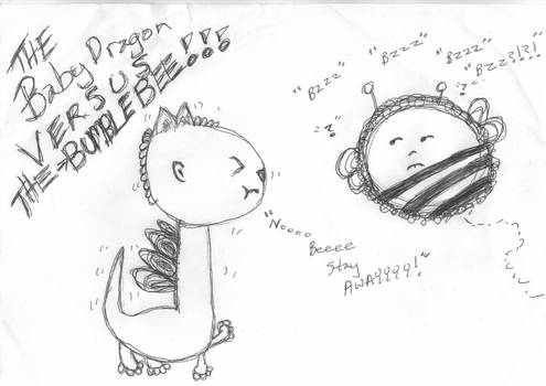 Baby Dragon VERSUS THE Bumble Bee Meme