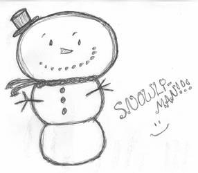 Snowly-Man by BakaTheIdiot