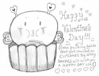DA Pouting Fairy Valentines Day by BakaTheIdiot