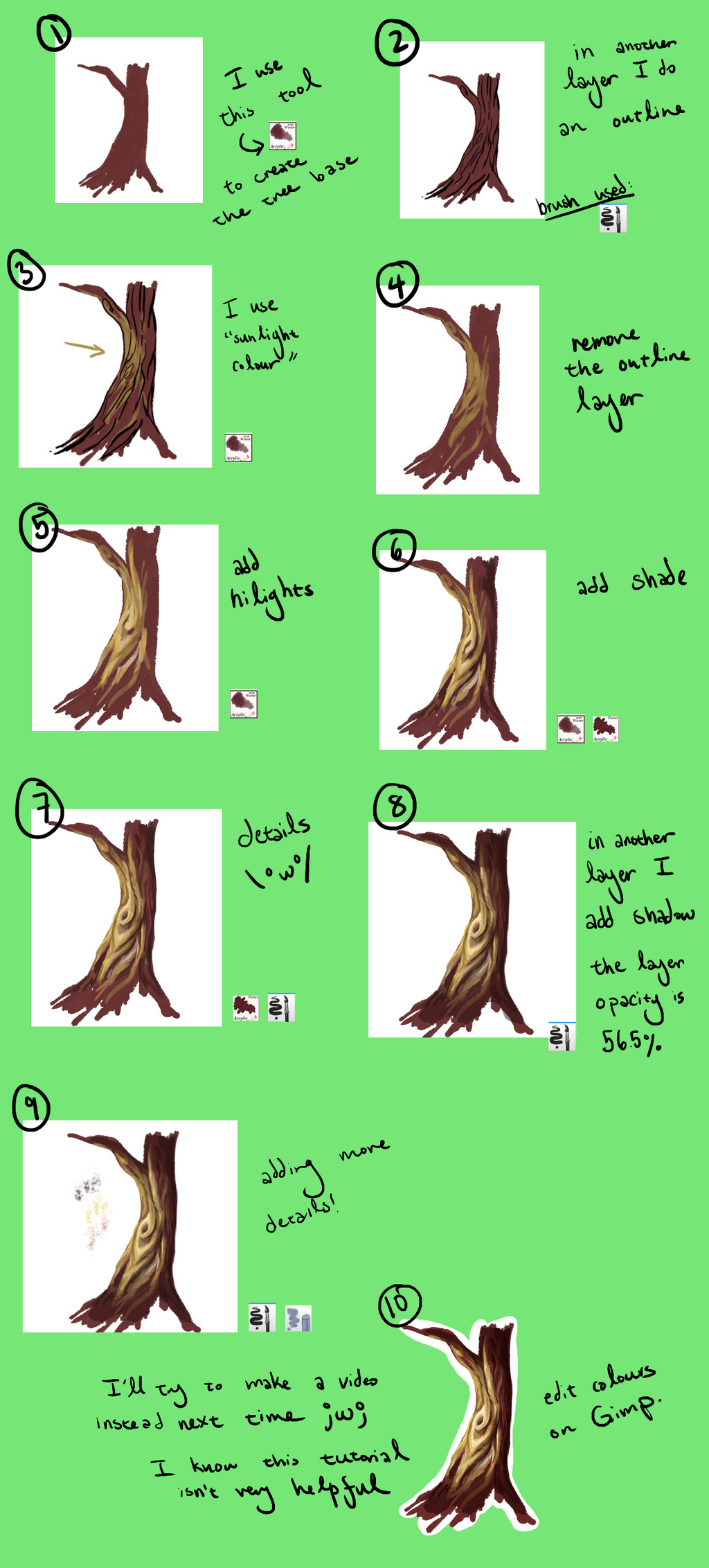 Tree Tutorial by Guava-Pie