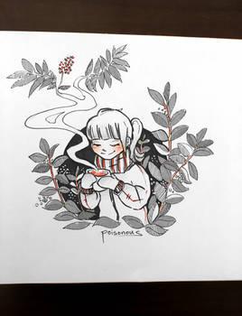 inktober poisonous