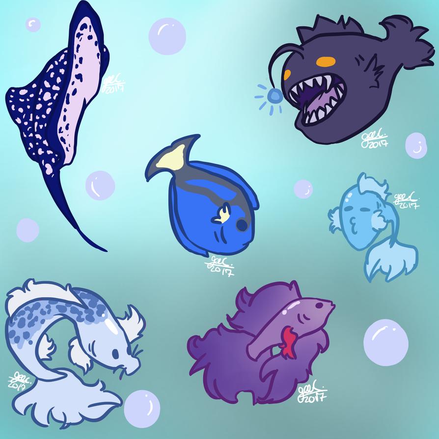 Fish! by pastelabsurdity