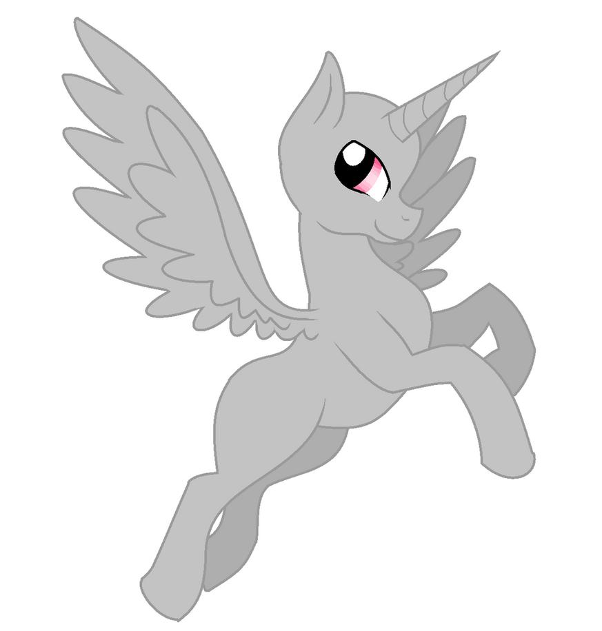 Male Alicorn Base 1 by Calibaby11001 on DeviantArt