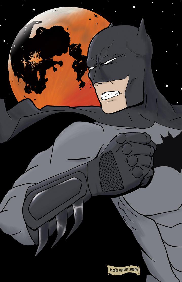 BATMAN- sketch by BobWulff