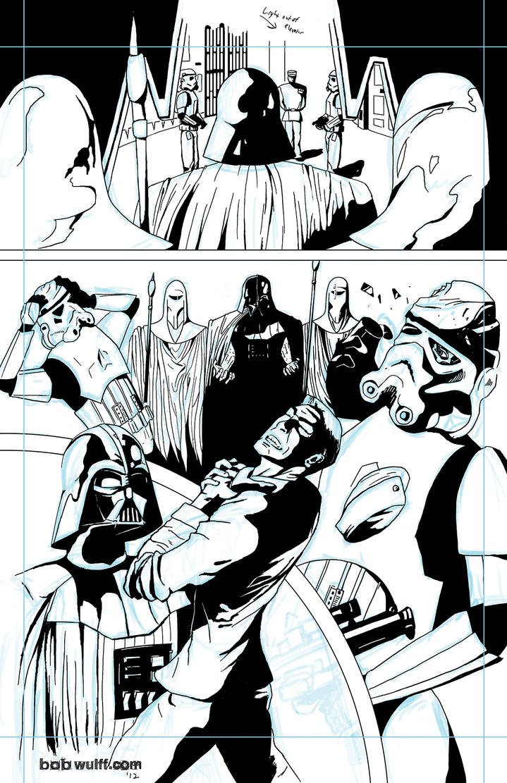 Vader's Pissed by BobWulff