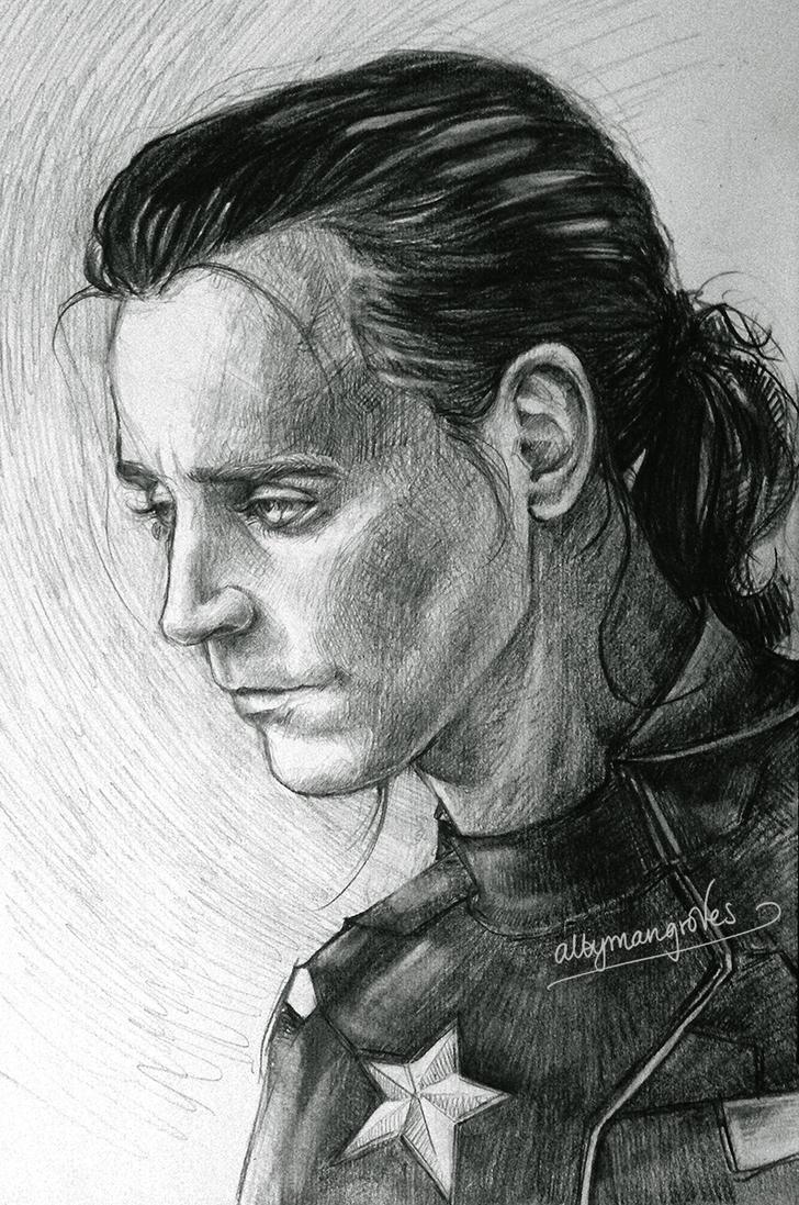 Loki as Cap by artgroves
