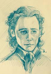 Sir Thomas Sharpe doodle