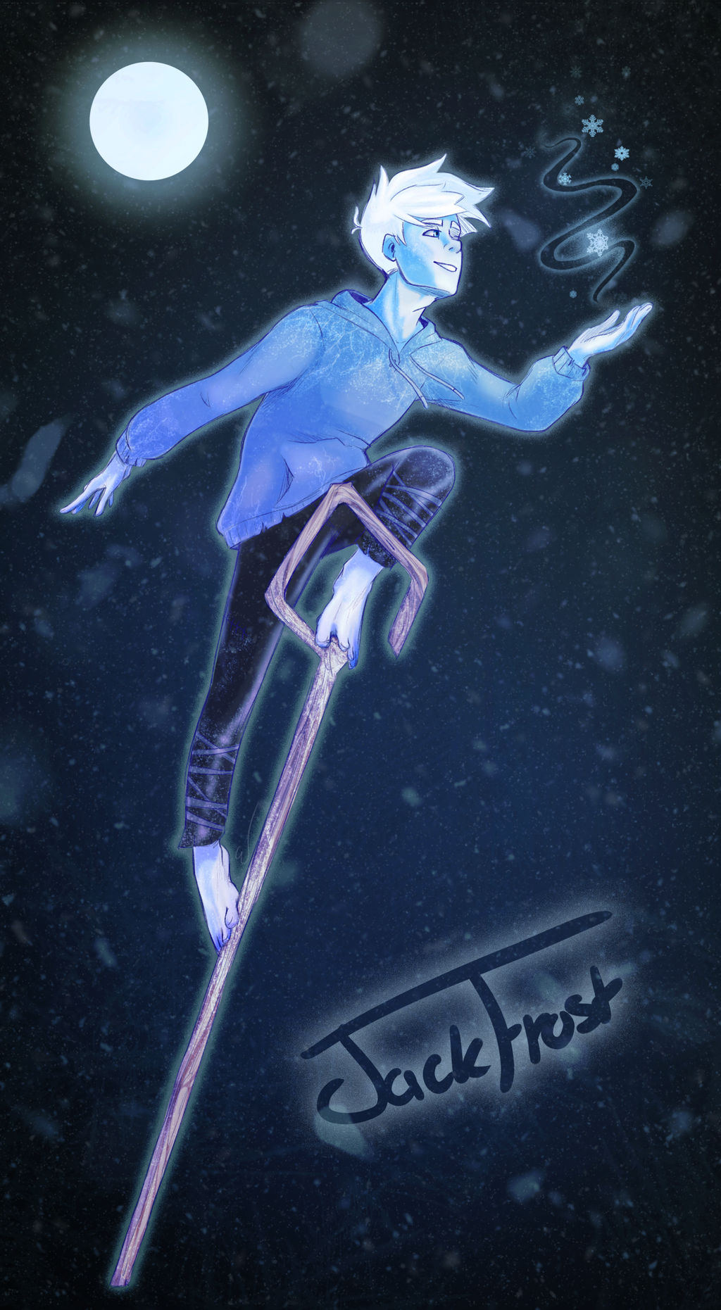 Jack Frost By Azruka397 On Deviantart