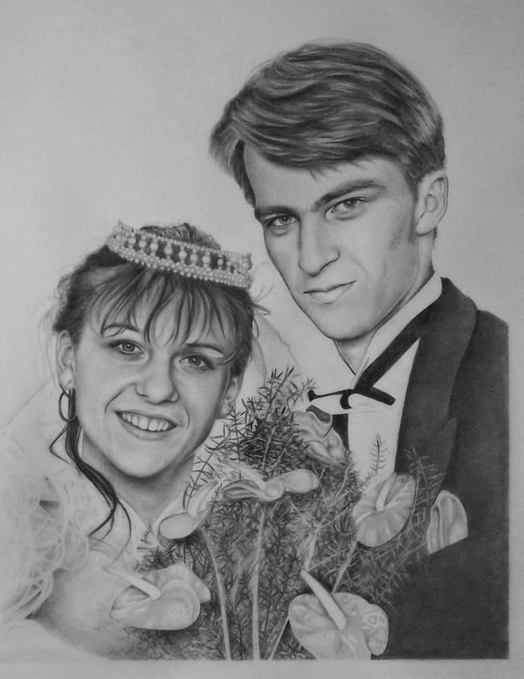 Svadobny portret A2