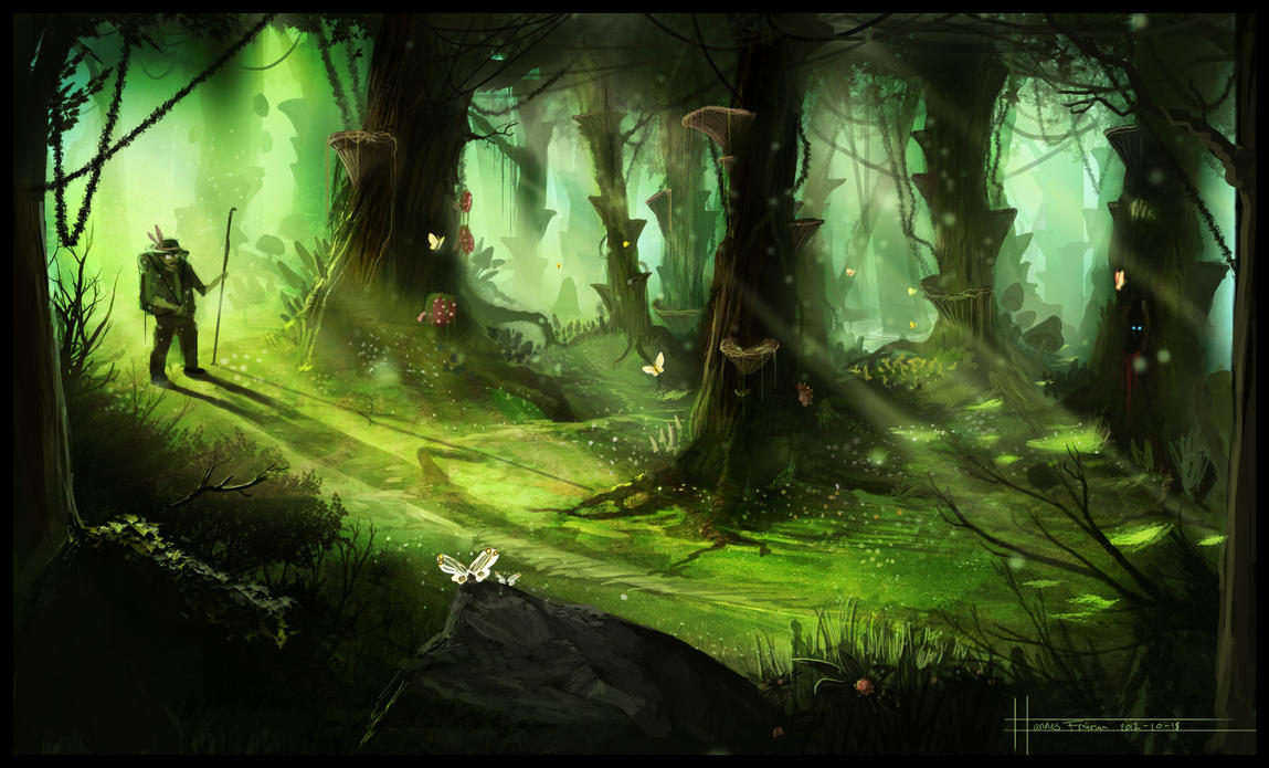 The Unseen Forest by Puffisen