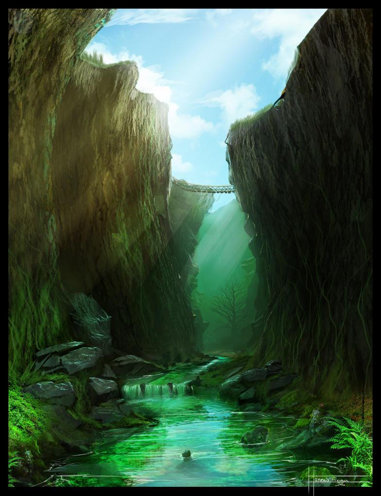 Hidden Swampriver by Puffisen