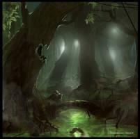 Swampforest! by Puffisen