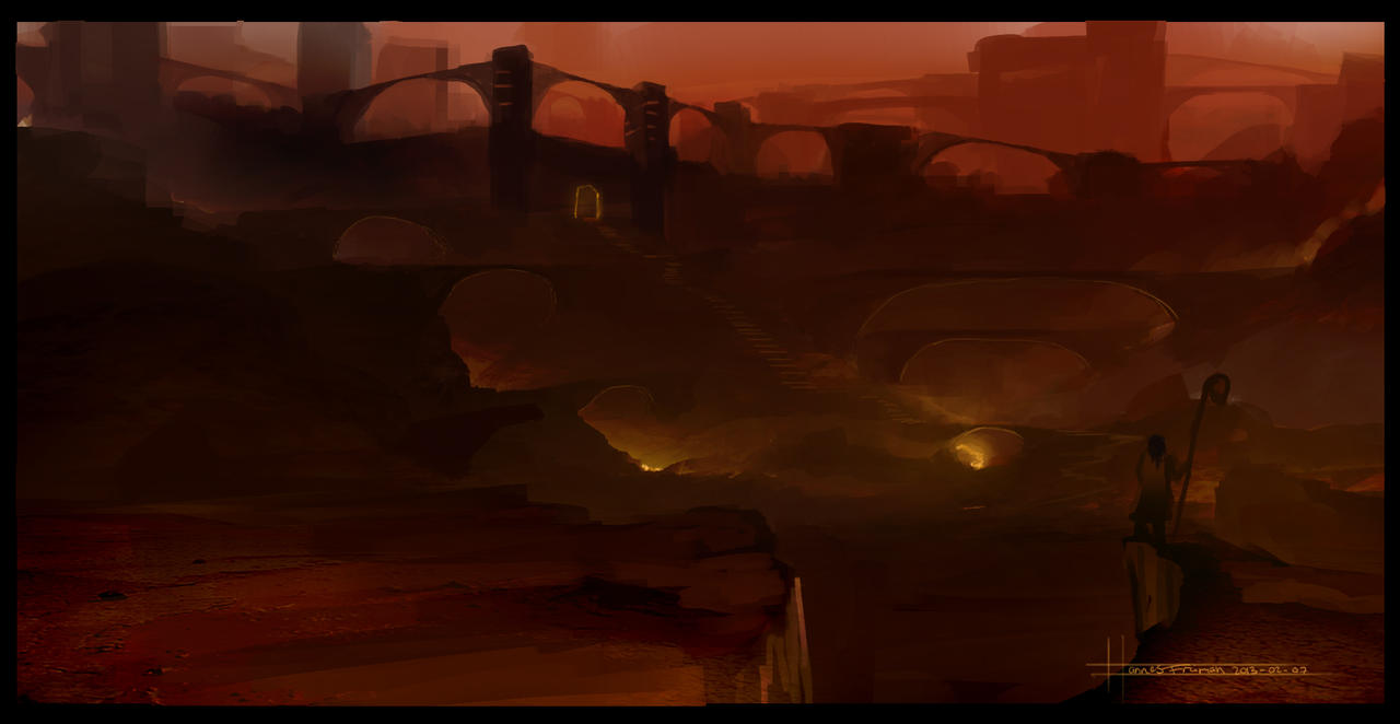 Bridge Caste by Puffisen