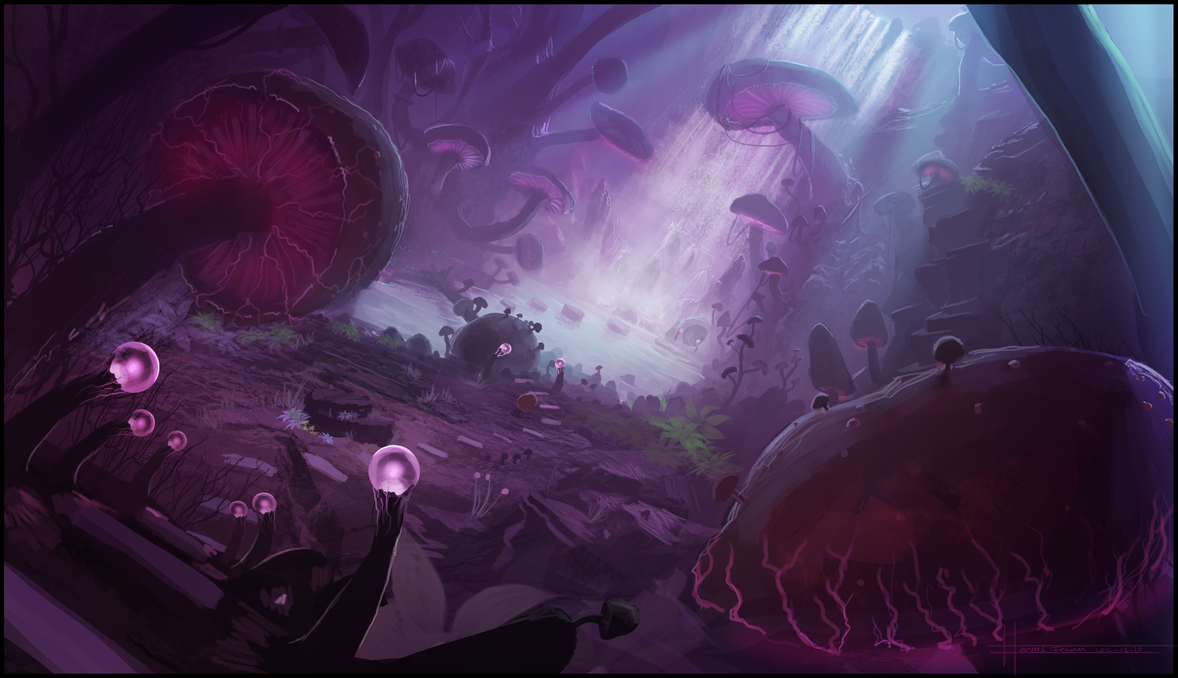 Shroom DreamForest by Puffisen