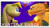 Hunter + Bianca Stamp by crimson-sunset