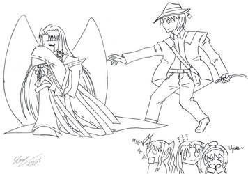 Attack on Kanna (Mio's ver) by DX5536