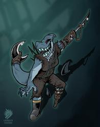 COMM: shark ghost