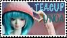 Tea Cup Unoa Stamp by artemiselani