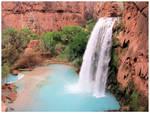 Havasupai Falls by TalentedChild