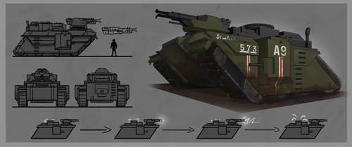Mark XV Surge Tank Concept