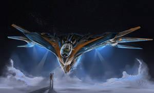 Guardians of the Galaxy Milano Starship