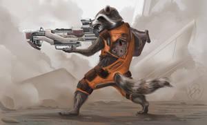 Guardians of the Galaxy Rocket Raccoon