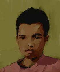 self-portrait by spx