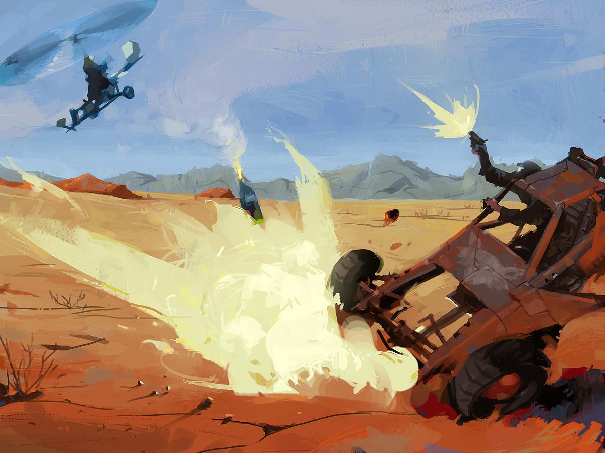 dead buggy by spx