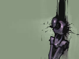 tortured robot wallpaper by spx