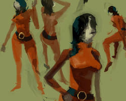 figure sketches by spx