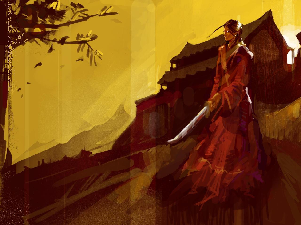 samurai girl by spx