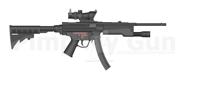 MP5 (Modified). by beaniesteve21