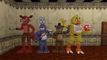 The Fazbear band!