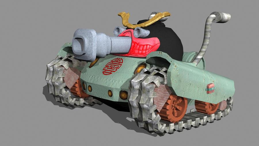 Final Ravager Tank